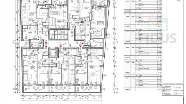 Appartamento, 56 m2, Vendita, Osijek - Gornji grad