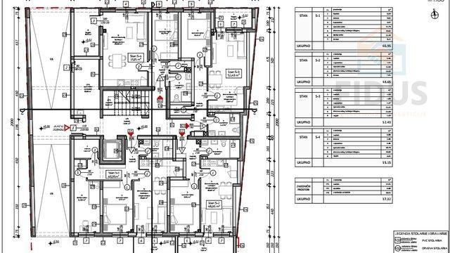 Appartamento, 55 m2, Vendita, Osijek - Gornji grad