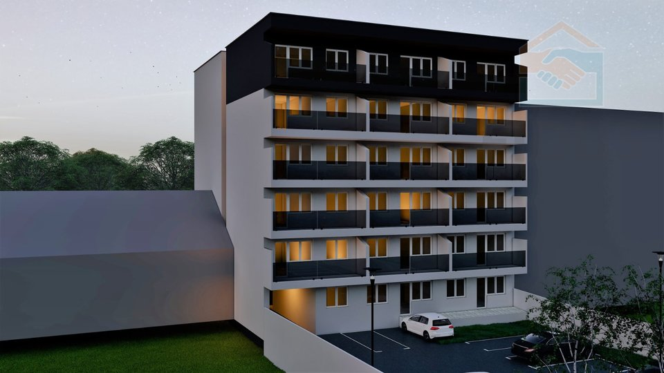 NOVOGRADNJA (trosobni stanovi) - širi centar Osijeka
