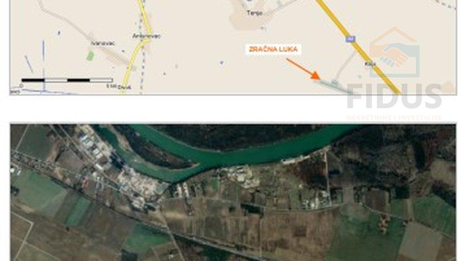 Zemljište s devastiranim objektom - industrijska zona Nemetin